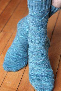 Business Casual Sock | AllFreeKnitting.com