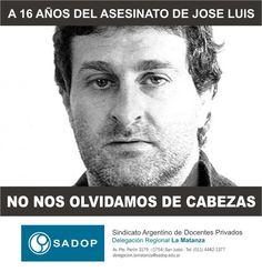 25 de enero de 2013 a 16 años del asesinato de José Luis Cabezas