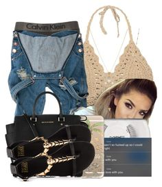 """""""•"""" by maryjanetower ❤ liked on Polyvore featuring moda, Calvin Klein, Jennifer Zeuner, MAC Cosmetics, Casetify, Michael Kors y Truth or Dare"""
