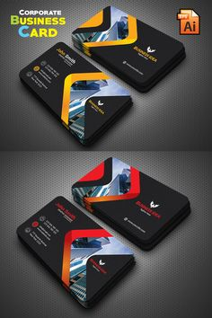Creative Business Card Corporate Identity Template The Effective Pictures We Offer You About school Logos Design A quality picture Business Cards Layout, Professional Business Card Design, Luxury Business Cards, Elegant Business Cards, Modern Business Cards, Business Design, Creative Business Cards, Web Design, Name Card Design