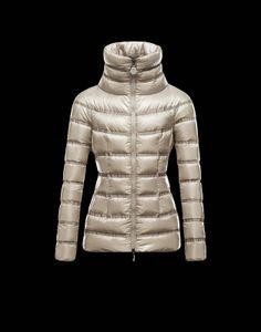 Moncler 2013 Womens Jacket Gaudin Beige $349