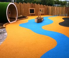 Wetpour Playground Installers 6