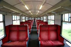 Class 421 Interior, May 2005 South West Trains, London England, Windsor, 1950s, Interior, Indoor, Interiors