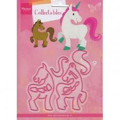 Marianne Design Collectable Pferd & Einhorn