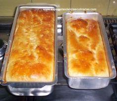 Pão de forma (massa mole) - Espaço das delícias culinárias