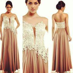 Vestido de festa - by Camila Siqueira #inlove #Verão15 #trend