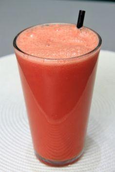 RECEITA THERMOMIX: Suco de melancia e laranja