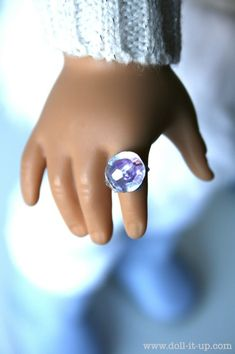 how to make a doll ring