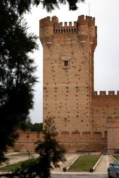 Castillo de la Mota, Medina del Campo, Castilla y León, Spain