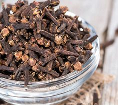 Rubbing clove oil onto your joints can soothe pain, thanks to an anti-inflammatory compound in cloves called eugenol.