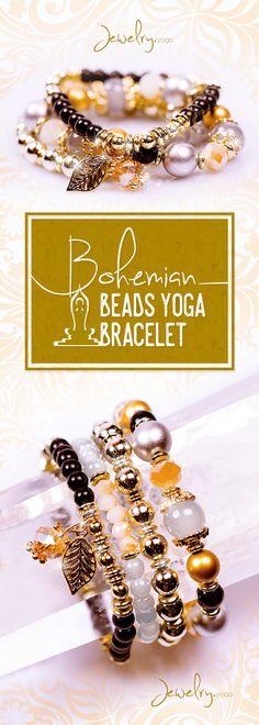Bohemian Multilayer Beads Bracelet