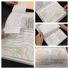 Earth Science for Interactive Notebooks - Topographic Maps