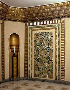 The Beauty of All Things: The beauty of Art Deco. Lobby do Edifício 20th Century Fox