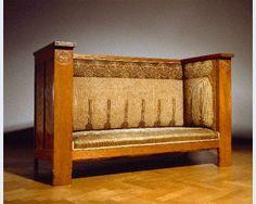 Chris Wegerif [1859-1920], uitvoering Arts and Crafts Bank Apeldoorn ; Den Haag 1900