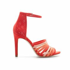 Image 1 of STRAPPY HIGH HEEL SANDAL from Zara