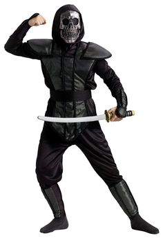 Ninja Master Boys Costume Lg 12-14