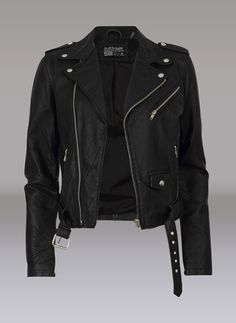 carlings leather jacket