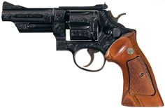 """Signed Engraved Serial Number """"N1"""" Smith & Wesson Model 28-2 Highway Patrolman Double Action Revolver with Case"""