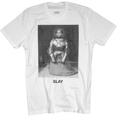 Slay Tee (295 SEK) ❤ liked on Polyvore featuring tops and t-shirts