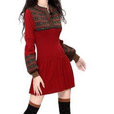 Artka Women's Ethnic Jacquard Slim-fit Long Warm Wool Dress, Firebrick, M Artka http://www.amazon.com/dp/B00G1XCHMY/ref=cm_sw_r_pi_dp_PHXtwb0D1X4XJ