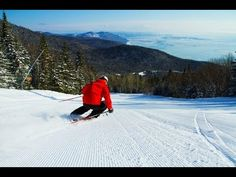 Le Massif de Charlevoix, in Ways to Explore Charming Charlevoix, Quebec, by Helen Earley Travel And Tourism, Us Travel, Charlevoix Quebec, Voyager Loin, Best Skis, St Lawrence, Canada, Quebec City, Whale Watching