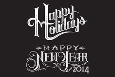 Check out Holiday Vector Lettering by END on Creative Market