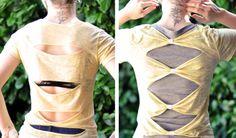 kreativ med t-skjorter