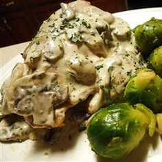 Mushroom and Swiss Chicken Allrecipes.com