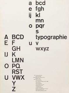 Cover from 1960 issue 11 | Cover Design | Robert Büchler | Typefaces: Akzidenz Grotesk, Monotype Grotesque