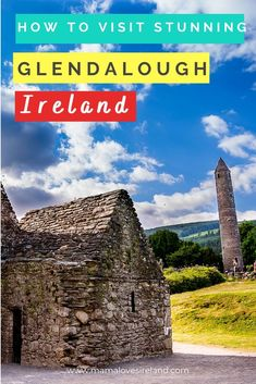All you need to know about visiting Glendalough, one of Ireland's most beautiful monastic site. How to get to Glendalough, best things to do, visiting Glendalough with kids Ireland Vacation, Ireland Travel, Europe Travel Guide, Travel Guides, Coach Tours, Love Ireland, European Destination, Day Tours, Family Travel