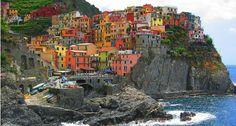 manarola #Italia #Cinqueterre