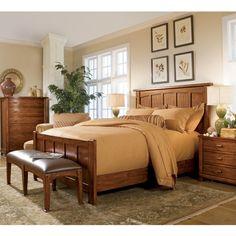 light wood bedroom set home bedroom furniture bedroom sets badin ridge panel bedroom set light wood light