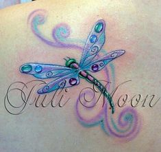 Dragonfly Drawing, Small Dragonfly Tattoo, Dragonfly Wall Art, Blue Dragonfly, Future Tattoos, Love Tattoos, Body Art Tattoos, Crown Tattoos, Heart Tattoos