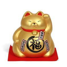 Lucky cat... large bank that supposedly attracts good fortune and harmony. I think it is cute.