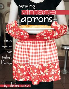 Sewing Vintage Aprons book.  A little late to buy this.  I already bought like 45 aprons.