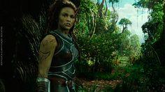 O elo perdido entre dois mundos: Paula Patton é Garona em Warcraft - O Primeiro Encontro de Dois Mundos. #WarcraftFilme #Cinema #Warcraft #WoW