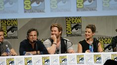 San Diego Comic Con 2014 - Marvel Studios - Mark Ruffalo, Chris Hemsworth, Cobie Smulders  Photos by nevermindthevoid