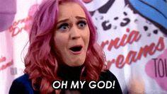 OMG Katy Perry ANIMATED GIF - SpeakGif