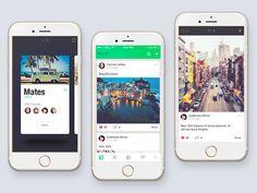 Social app by Stano Bagin for PLATFORM