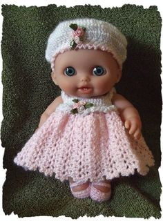 Crochet PATTERN For  Lil Cutesie Doll 8 Inch and 10 by alcarrico32, $4.99