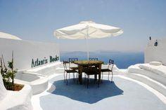 Librería 'Atlantis Books'. Isla de Santorini (Grecia)