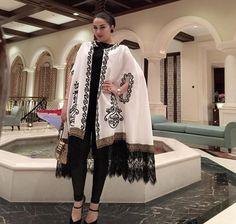Inspo for open abaya