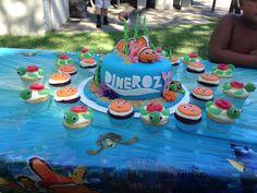 Finding nemo cake n cupcakes Kessa's Creations Central Valley California  Kessascreations@gmail.com www.facebook.com/creationsbykessa