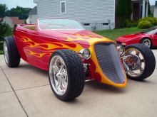 1933 Ford Highboy Roadster NO RESERVE/ABSOLUTE!!! | Proxibid Auctions
