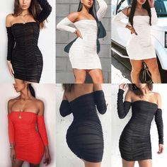 Feel as incredible as you look and shop. ✔ Worldwide Free Shipping ✔ Subscribe & Get $10 Off ✔ For Shop This Outfit Click On Bio Link & Search id>>TDM10607  #Sexy #SheathDress #OffShoulder #Ruched #Bodycon #Springwear #Fall #Backless #Dating #Knotted Party Dresses For Women, Prom Dresses, Sheath Dress, Bodycon Dress, Spring Wear, Evening Party, Off The Shoulder, Strapless Dress, Backless