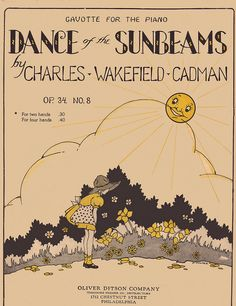 Dance of the Sunbeams illustrated by L. Hooper by katinthecupboard, via Flickr