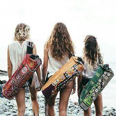Beautiful Yoga Mat Bags