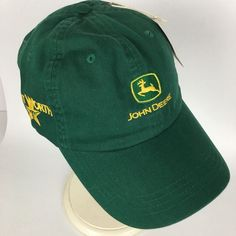 ff4d35fa945 New John Deere Fort Worth Strapback Hat Baseball Trucker Cap Mens  Embroidered  fashion  clothing