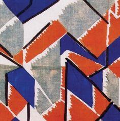 Vanessa Bell textile design