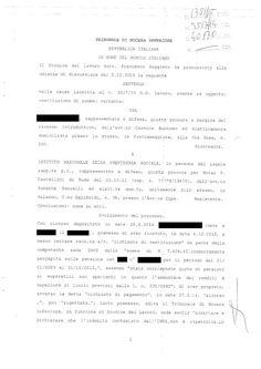 Studio Legale Buonomo (Na / Ce): Richiesta INPS restituzione somme indebitamente pe...